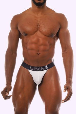 J.J. MALIBU JJ BIKINI BRIEF - WHITE