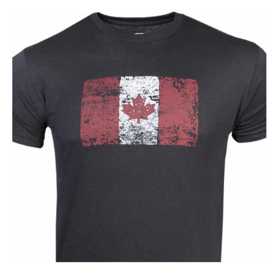 RUFF RIDERS MAPLE LEAF T SHIRT