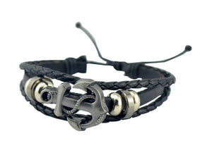 LEATHER MARINE BRACELET