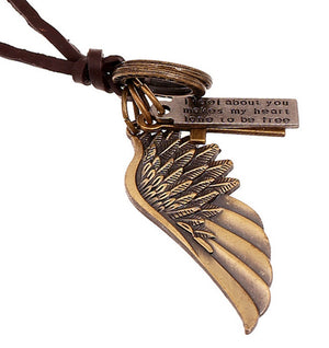 NECKLACE - ANGEL WING