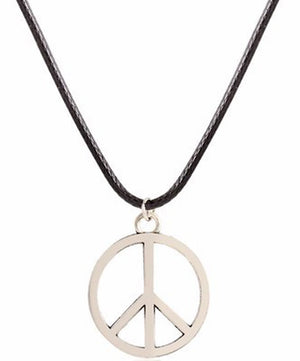 NECKLACE - PEACE SYMBOL
