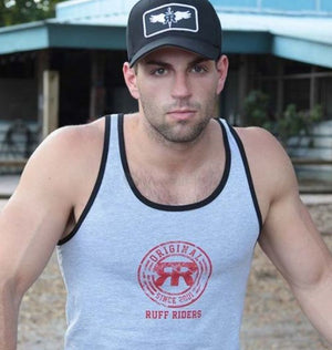 RUFF RIDERS GREY TANK