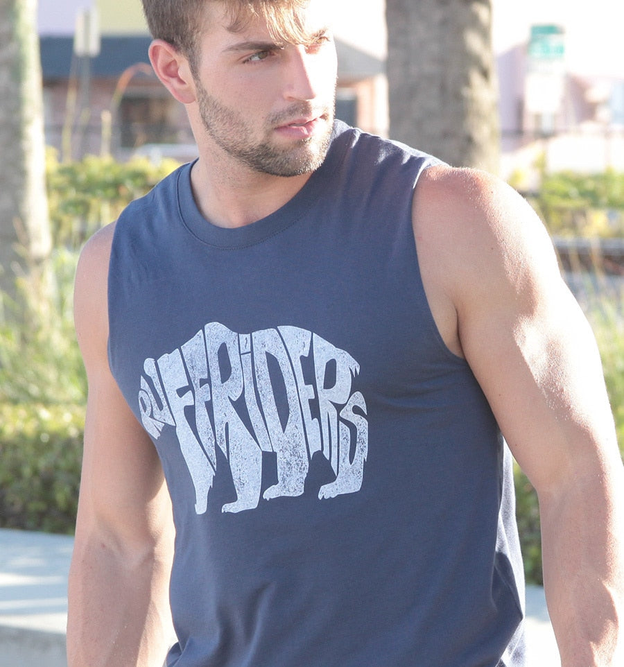 RUFF RIDERS POLAR BEAR (MUSCLE TEE)