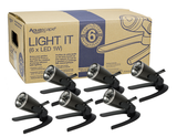 Aquascape Garden & Pond 1-Watt LED Spotlight (Single Light/ 6 Light Pack)