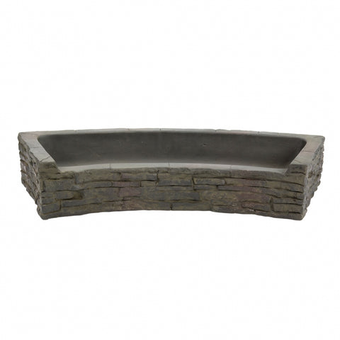 Aquascape - Curved Stacked Slate Topper - Front-Spill, Rear Spill and Quad Spill