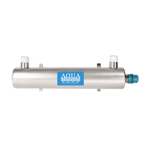 "Aqua Ultraviolet - Stainless Steel 25 Watt Unit - Size 3/4"", 1"" and 2"" (With or Without Wiper)"