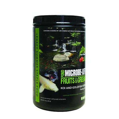 Microbe-Lift Fruits and Greens Floating Sticks Fish Food
