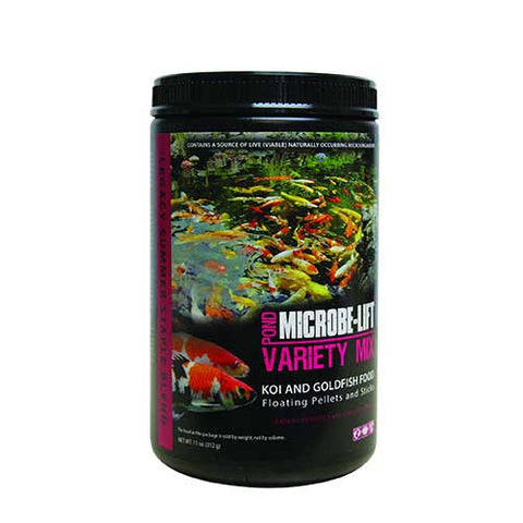Microbe-Lift Legacy Variety Mix Fish Food