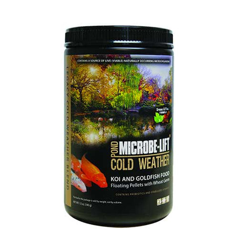 Microbe-Lift Legacy Cold Weather Fish Food (Wheat Germ)