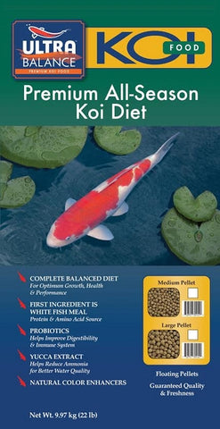 Ultra Balance All-Season Growth Koi Diet