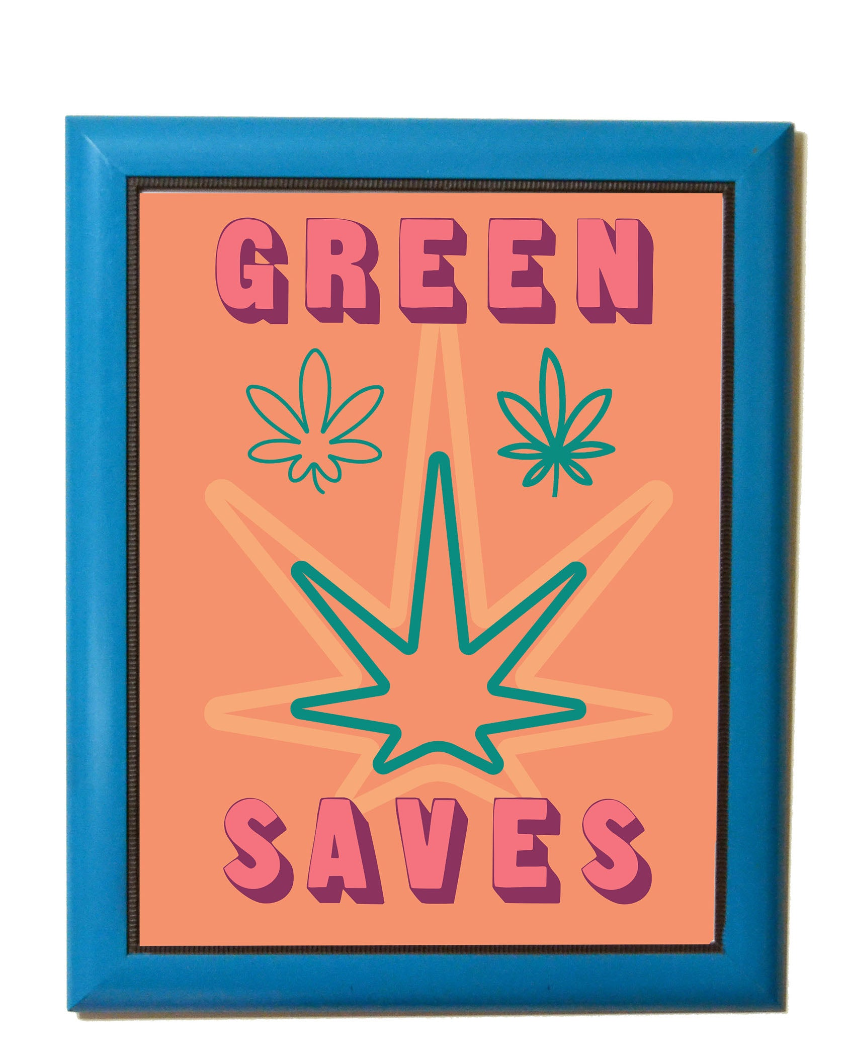 Green Saves Poster