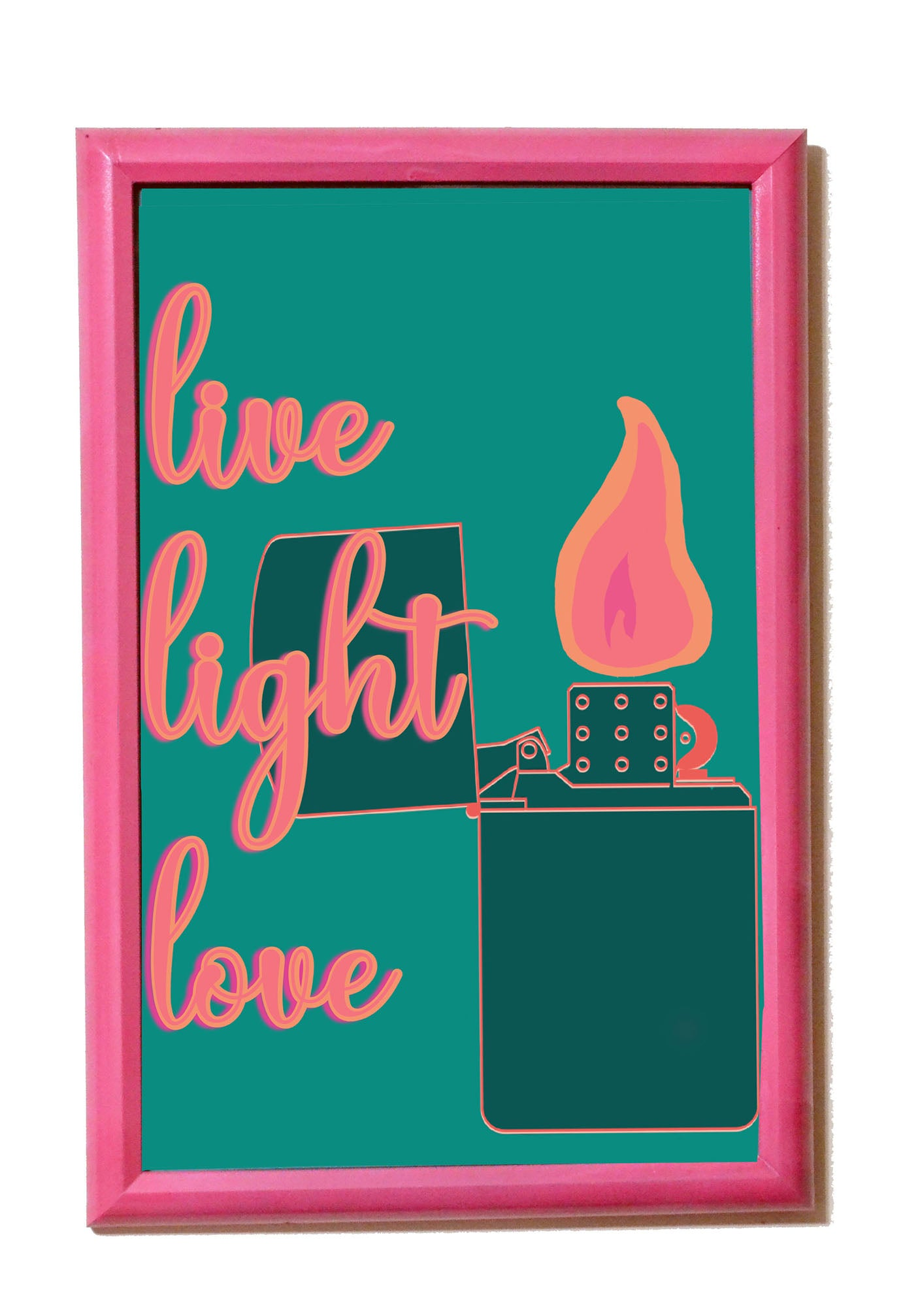 Live Light Love Poster