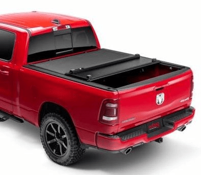 Extang Xceed 85425 Trifold Tonneau Cover - 09-18 RAM 1500 5.7' Bed - Leduc Hitch