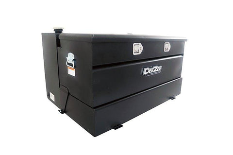 Dee Zee DZ92647SB 92 gal. Transfer Tank Tool Box Combo - Steel - Black - Leduc Hitch