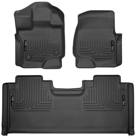 Husky Liners 94051 Weatherbeater Series - 15-20 Ford F-150 SuperCab