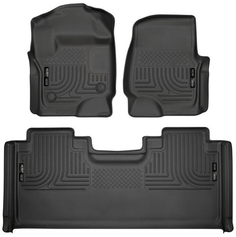 Husky Liners 94071 Weatherbeater Series - 17-20 Ford F250/F350/F450 SuperCab