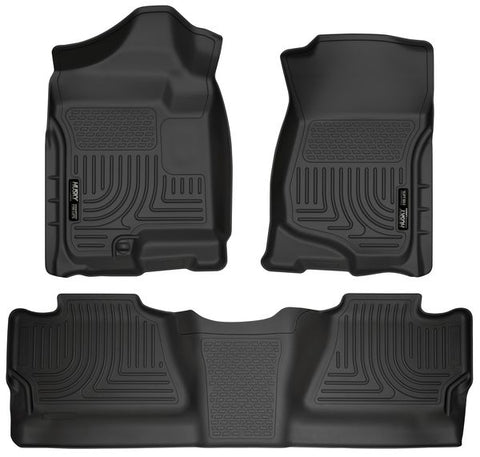 Husky Liners 98201 Weatherbeater Series - 07-13 Chevy/GMC 1500 & 07-14 Chevy/GMC 2500/3500 Crew Cab