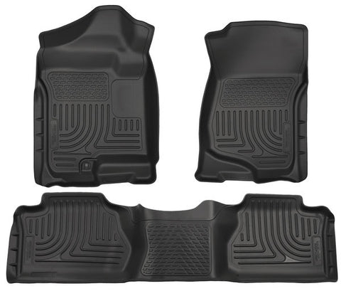 Husky Liners 98211 Weatherbeater Series - 07-13 Chevy/GMC 1500/2500/3500 Extended Cab