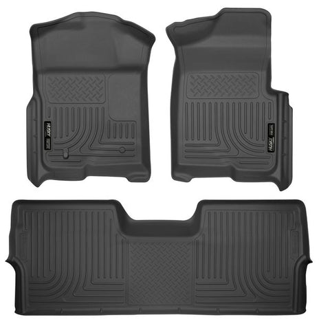 Husky Liners 98331 Weatherbeater Series - 09-14 Ford F-150 SuperCrew Cab