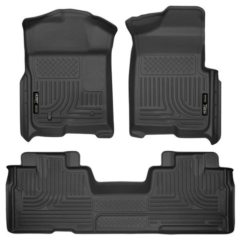 Husky Liners 98341 Weatherbeater Series - 09-14 Ford F-150 SuperCab