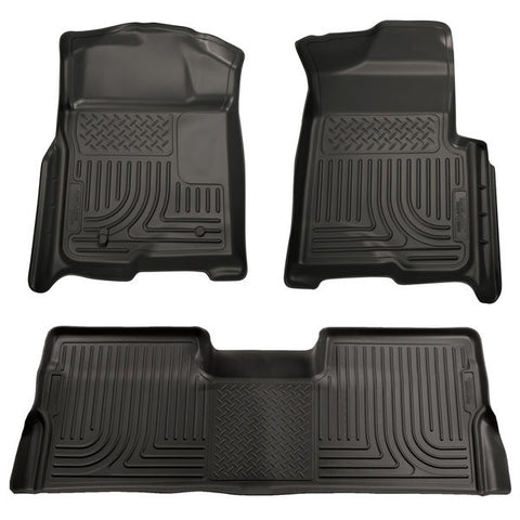 Husky Liners 98391 Weatherbeater Series - 08-10 Ford F250/F350 SuperCab