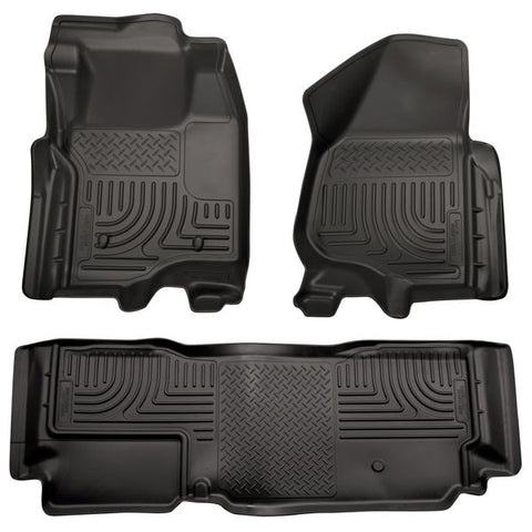 Husky Liners 98721 Weatherbeater Series - 11-12 Ford F250/F350 SuperCab