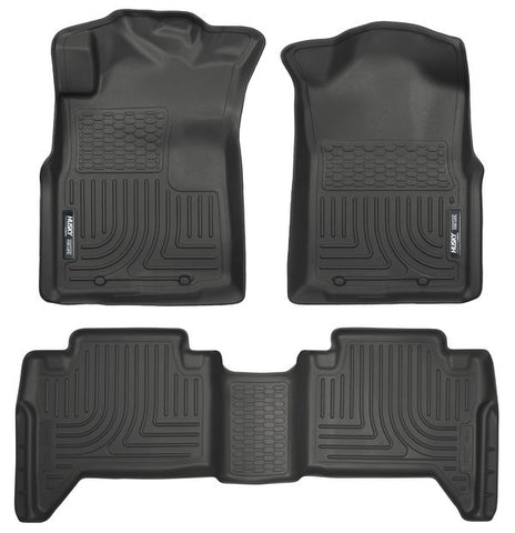 Husky Liners 98951 Weatherbeater Series - 05-15 Toyota Tacoma Double Cab