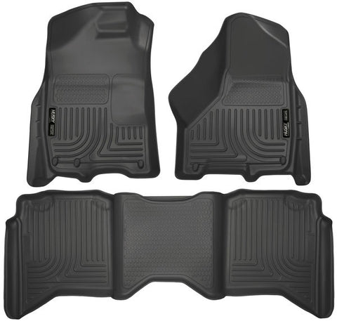 Husky Liners 99001 Weatherbeater Series - 09-19 Classic Body Style RAM 1500 & 10-18 RAM 2500/3500 Crew Cab