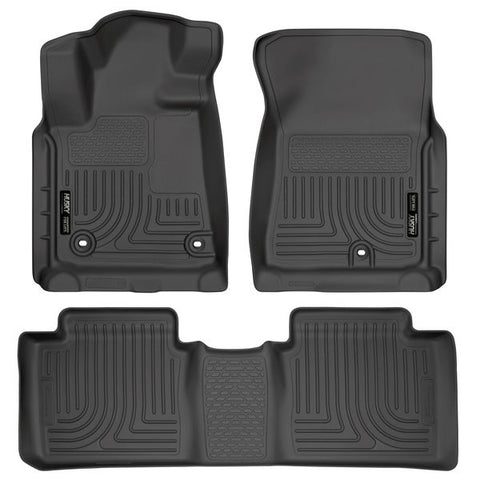 Husky Liners 99561 Weatherbeater Series - 14-20 Toyota Tundra Double Cab