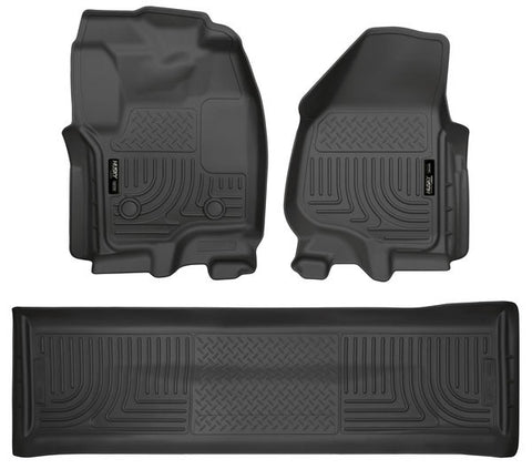 Husky Liners 99711 Weatherbeater Series - 12-16 Ford F250/F350 Crew Cab