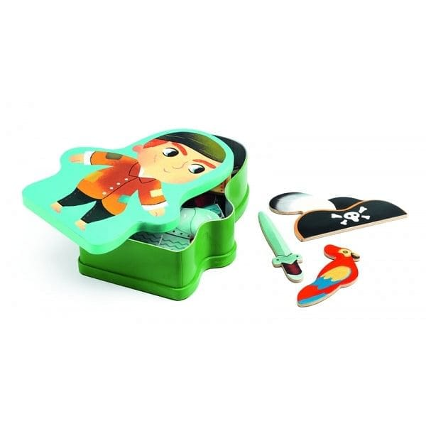 DJECO InZeBox Aventuro - Wooden Magnetics - Fairy Kitten