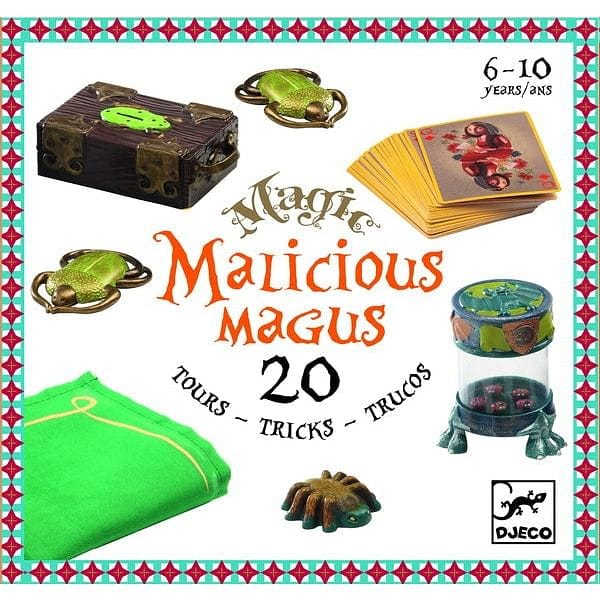 DJECO Malicious 20 Magic Tricks - Fairy Kitten