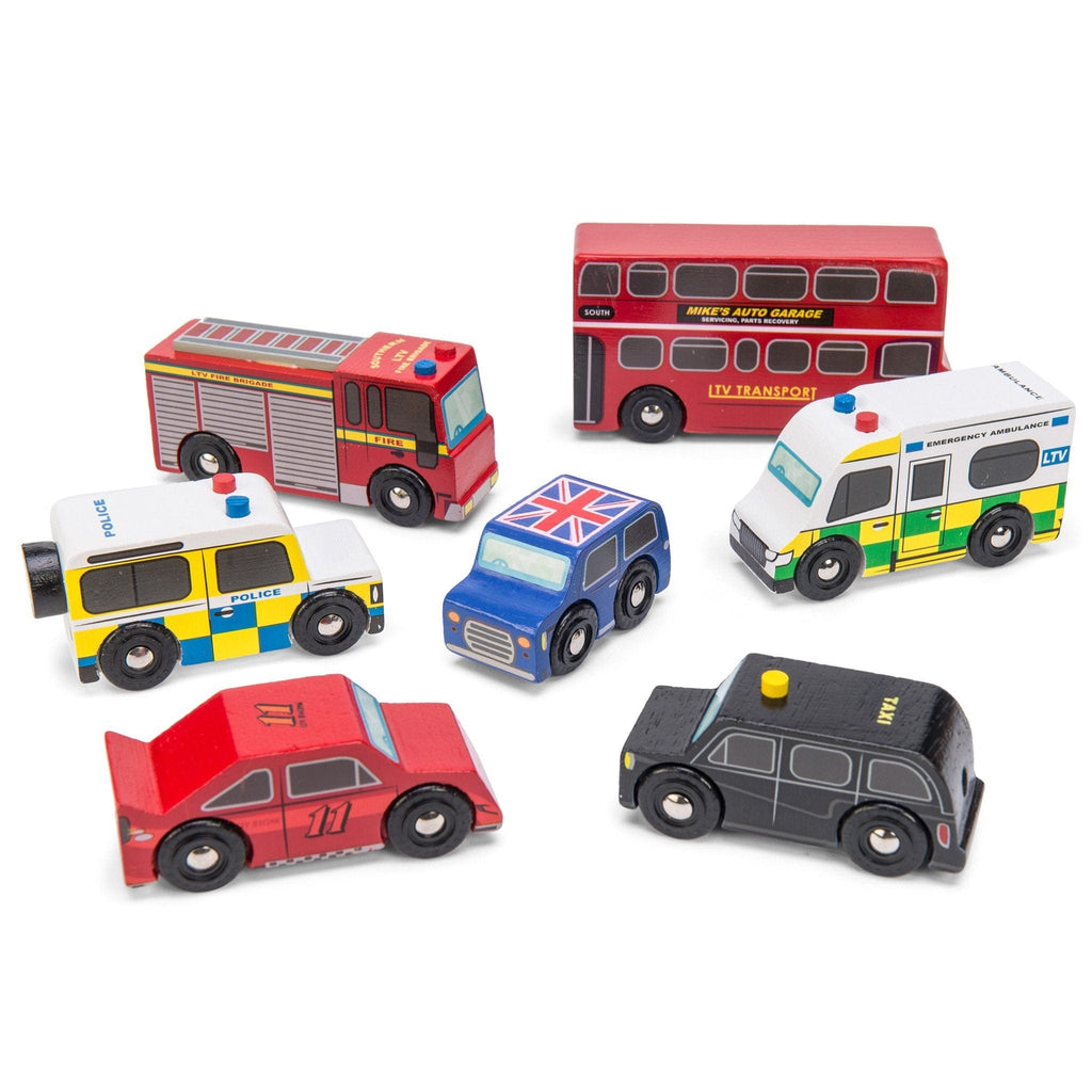 Le Toy Van TV267 London Car Set - Fairy Kitten