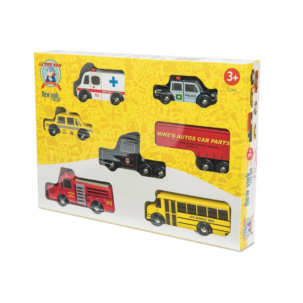Le Toy Van TV268 New York Car Set - Fairy Kitten