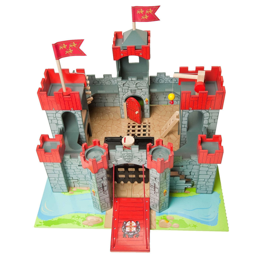 Le Toy Van TV290 Lionheart Wooden Castle - Fairy Kitten