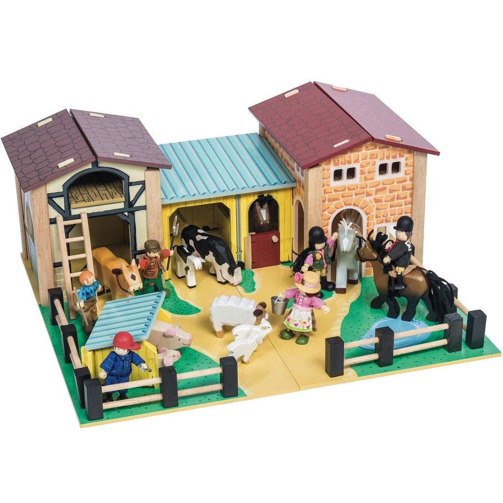 Le Toy Van TV410 The Wooden Farmyard - Fairy Kitten