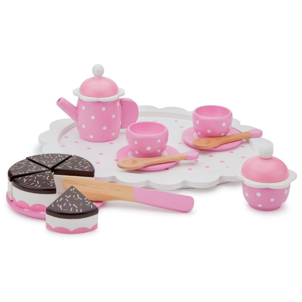 New Classic Toys 10620 Coffee/tea set with cutting cake - Fairy Kitten