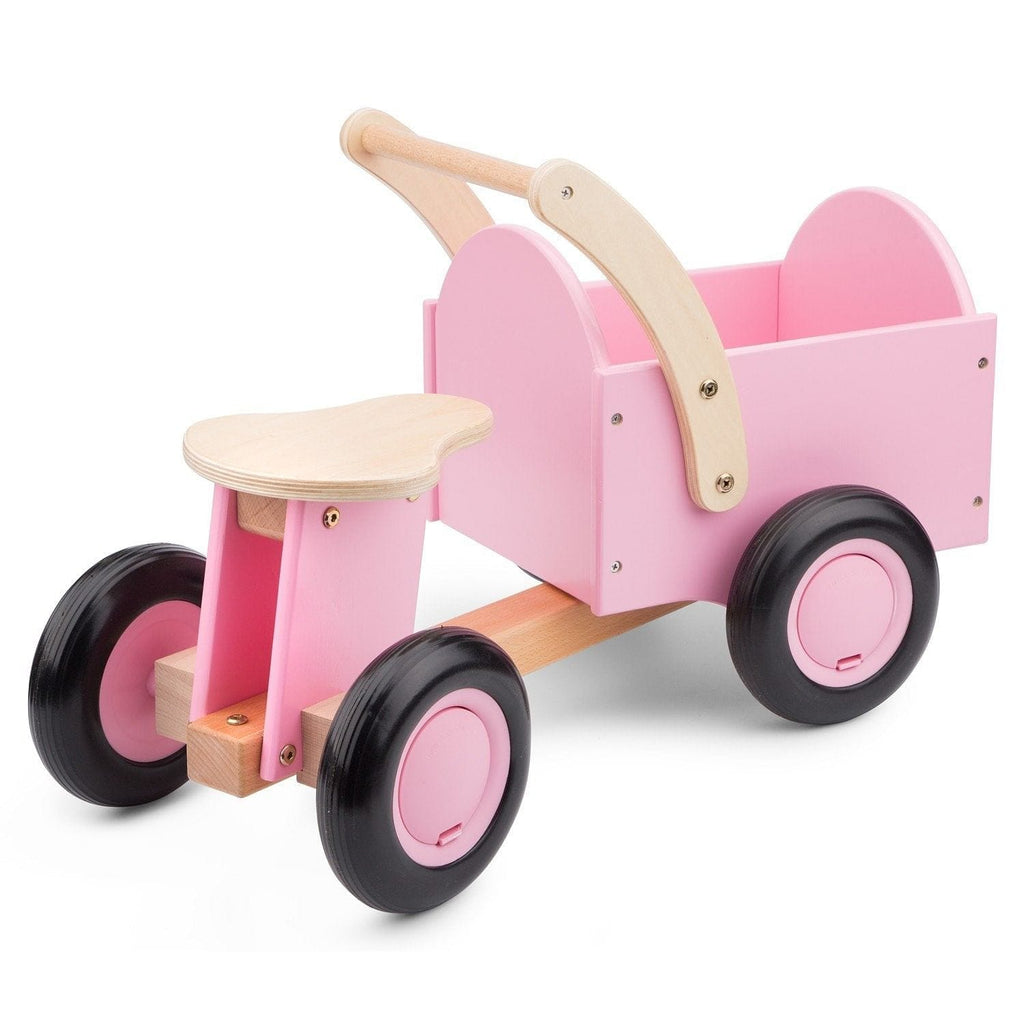 New Classic Toys 11404 Carrier bike - pink - Fairy Kitten