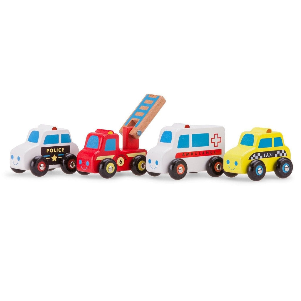 New Classic Toys 11930 Vehicles set - 4 vehicles - Fairy Kitten