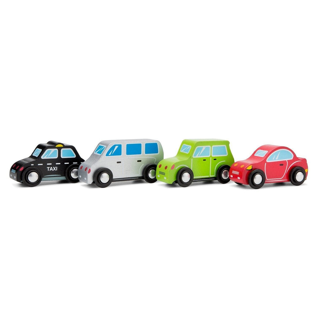 New Classic Toys 11934 Vehicles set - 4 cars - Fairy Kitten