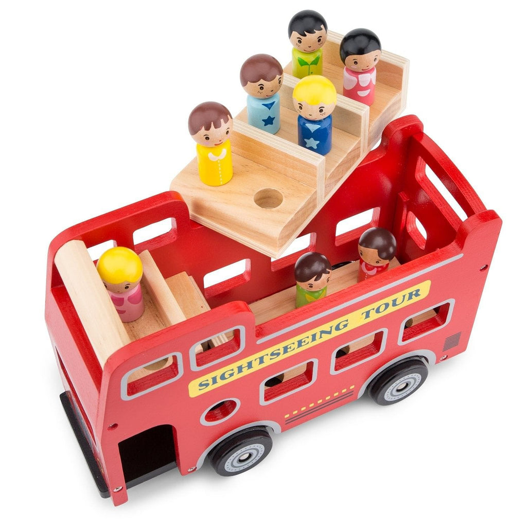 New Classic Toys 11970 City tour bus with 9 play figures - Fairy Kitten