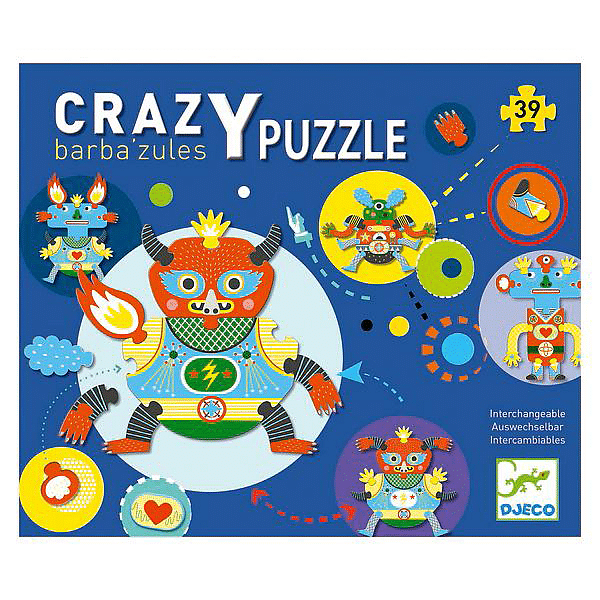 """DJECO Barba'zules Crazy Puzzle"" - Fairy Kitten"