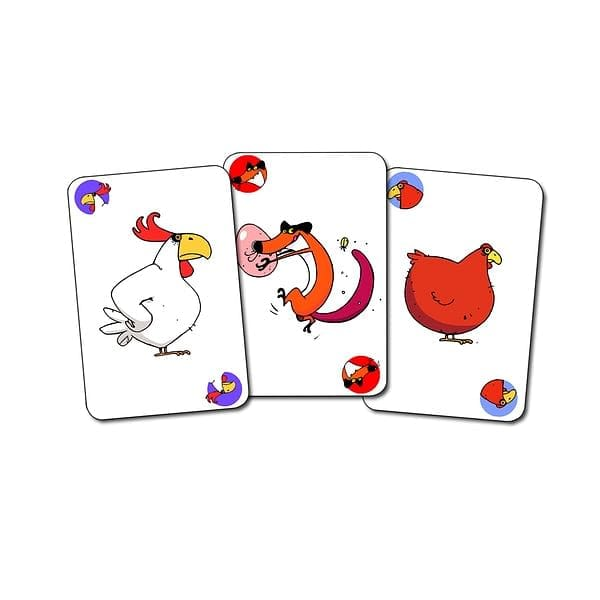 DJECO DJ05119 Piou Piou Card Game - Fairy Kitten