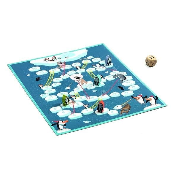 DJECO DJ05208 Snake and ladders - Fairy Kitten