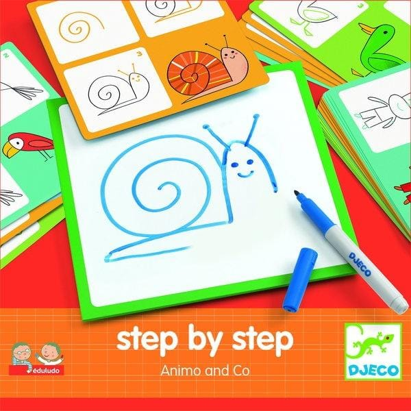 DJECO DJ08319 Step by step - Animals and Co - Fairy Kitten