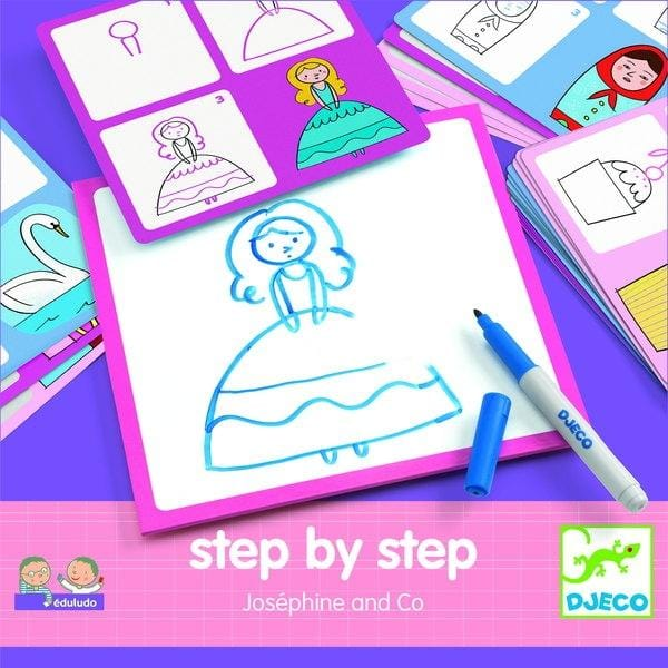 DJECO DJ08320 Step by step - Josephine and Co - Fairy Kitten