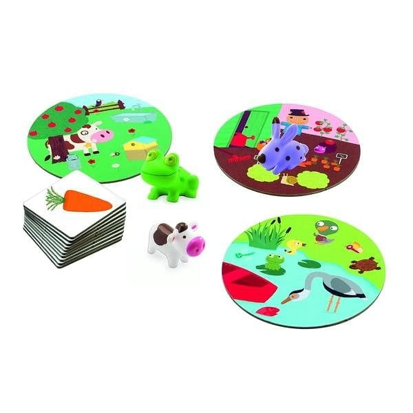 DJECO DJ08553 Toddler Games - Djeco Little Association - Fairy Kitten