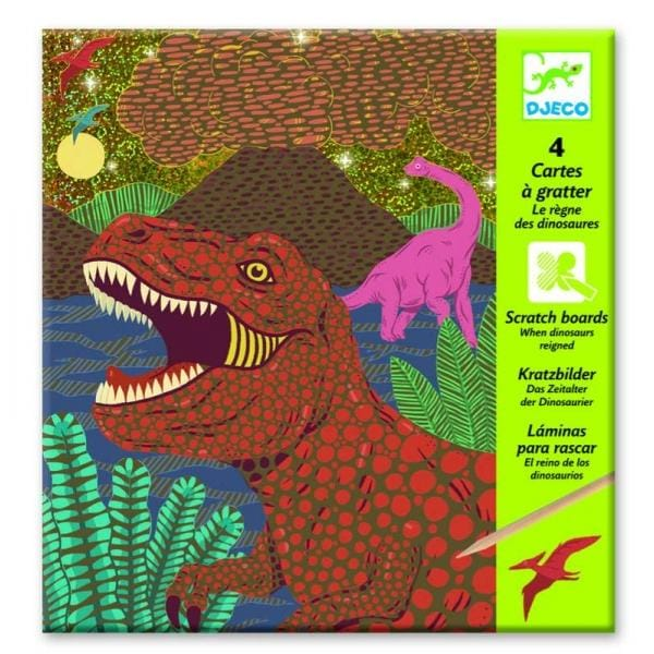 DJECO DJ09726 When dinosaurs reigned - Fairy Kitten
