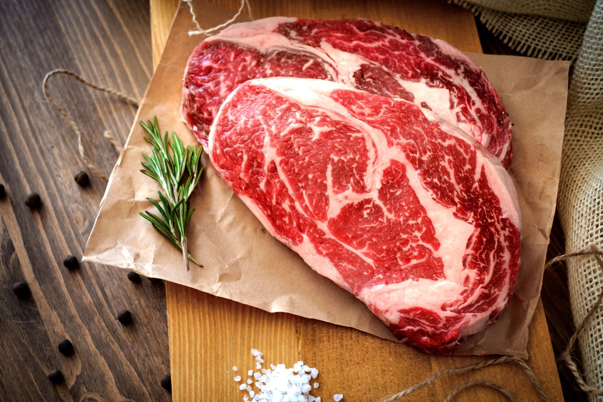 **  Ribeye Steak - USDA Choice  16 - 10 ounce