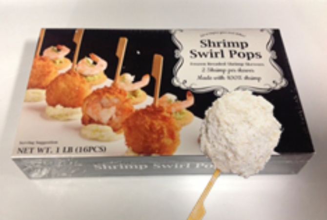 Shrimp - Breaded Lolipop
